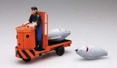 ターレットトラック模型