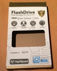 flash driveの箱